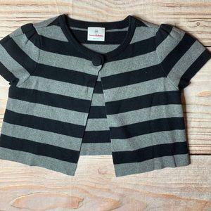 Hanna Andersson Stripe short sleeve sweater